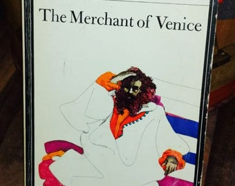 The Merchant of Venice by William Shakespeare Vintage Paperback Book