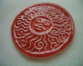 STU -  INTRICATE SUN Thinner for Glass work - Ceramic Wall Decor