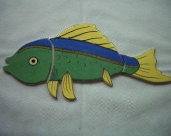 GWEN - XL Gorgeous FISH - Ceramic Tile