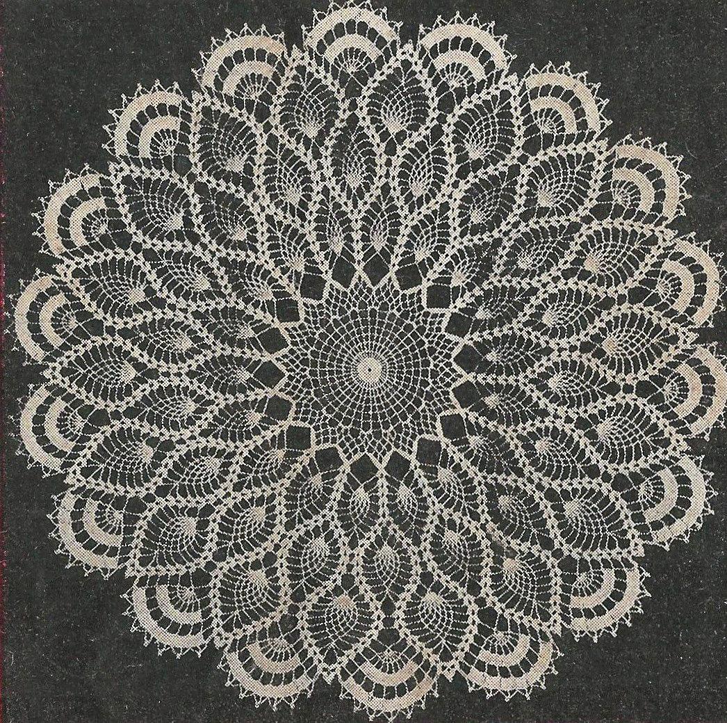 Aunt ellens favorite doily crochet pattern from a 1956 workbasket aunt ellens favorite doily crochet pattern from a 1956 workbasket a 23 pineapple doily pattern changed to pdf instant download bankloansurffo Choice Image