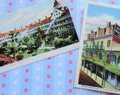 Antique Landmark UNUSED Postcards El Coronado Hotel California and Antoines Restaurant New Orleans