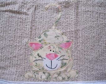 Sweet Kitty Kitchen Towel