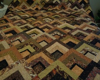 Earth Tone Quilt