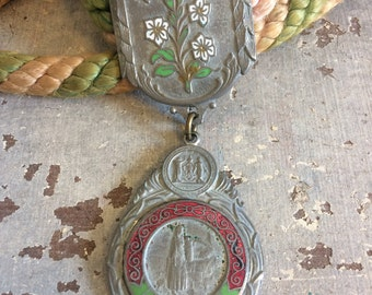 Vintage IOOF Oddfellows Rebekah Ceremonial Medal - RSNG