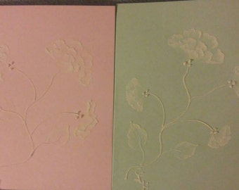 Hand Painted Notecards Floral design