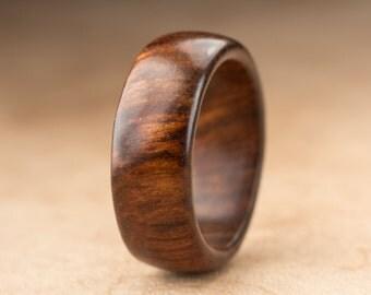 Size 7.5 - Tamboti Wood Ring No. 269