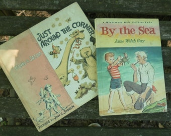 Two Vintage Children's Books summer reading for young ones!