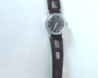 Women Timex  Watch Original 1960s Wind Up  Mechanical  and is Working  Watch