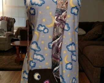 Corduroy Patchwork Festival Shoulder Bag Purse Jerry Garcia The Grateful Dead Phish