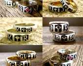 Order Your Pair of Romeo & Juliet Wedding Bands Here - Deposit Only