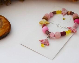 Bracelet enfant petit poisson