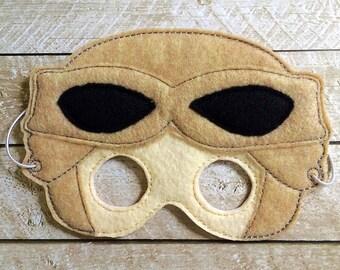 Children's Rey Star Wars Felt Mask