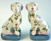 Vintage Pair of Dogs