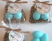 Custom Listing 10 Twins Nest Egg Handmade Soap Favors