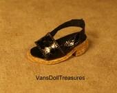 Dasia Shoes Black Slip Ons