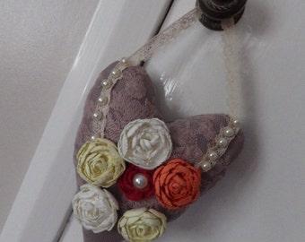Shabby Chic Decorative Heart