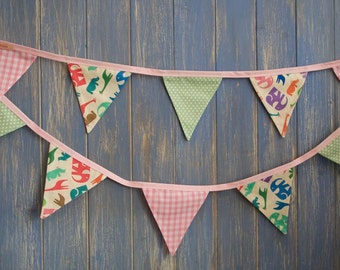 Children's Bunting. Party Bunting // Kids Decor // Baby Shower Bunting // Animal Bunting // Girls Decor // Kids Party Decor // Garlands.