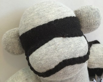 Cosplaying Captain Phasms the Sock Monkey