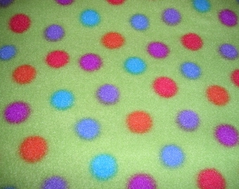 Reversible FLEECE Cage Liner 30X20 with Terrycloth  Lining for Guinea Pig, Hedgehog, Small Animal