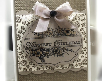 Stampin' Up Birthday Card