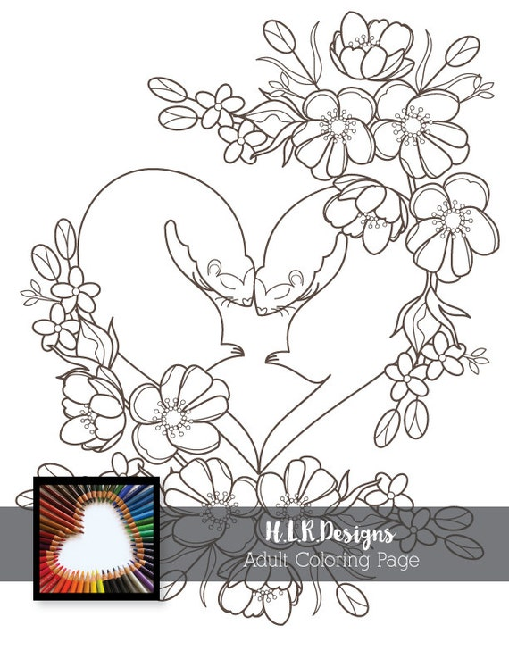 Ferrets coloring pagedigital stampadult for Ferret coloring pages