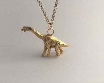 Brachiosaurus necklace