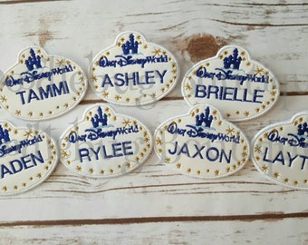 Disney name tag