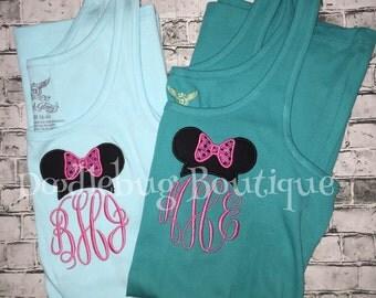 Minnie Mouse initial Disney tank