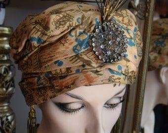Vintage 1920's Styled Turban