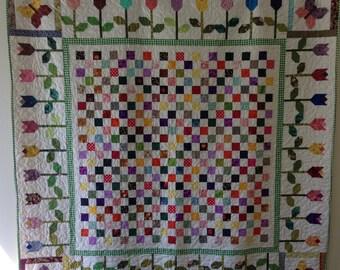 Pretty Posies Handmade Quilt
