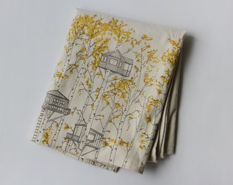 Organic Cotton Blanket - Yellow Tree Houses