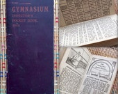1914 Gymnasium Director's Pocket Book