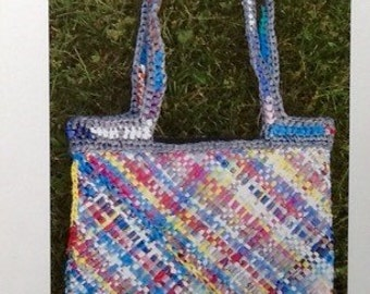 Weaving Pattern - Folded Plarn Bag with liner