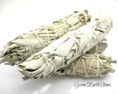 ONE White Sage Smudge Bundle,  Pagan, Ritual, Metaphysical, Energy Cleansing, Smudging, Ceremony, Spiritual, Herbs, Dried Sage, Psychic,