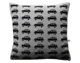 Lambswool London Taxi Cushion