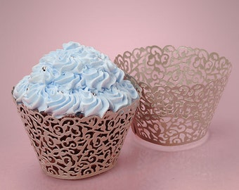 Lace Cupcake Wrappers - 50ct
