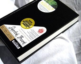 Travel Journal, Artist Gift, Sketch book, Bamboo Paper, fine arts, drawing tools, art supplies,