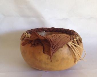 Beautiful Gourd Basket/ Bowl