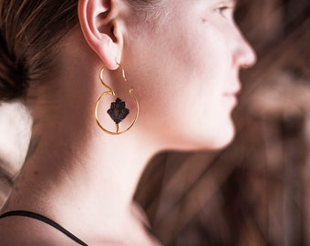 Om Earrings