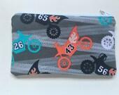 Reusable Snack Bag Food Bag Zipper Bag Essential Oil Bag - Dirtbike
