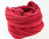 Frosted Winterberry II - Hand Dyed Wool Worsted Weight Yarn on Classic Fox Base