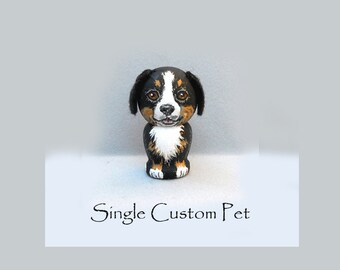 Custom Pet Tiny Kokeshi Doll Dog Cat