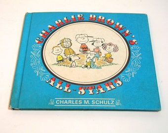 Charlie Brown's All-Stars By Charles M. Schultz, Vintage Book