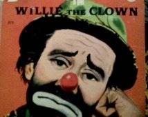 Emmett Kelly in Willie the Clown Rand McNally Elf Book