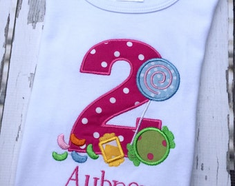 Candy Shop Birthday Shirt
