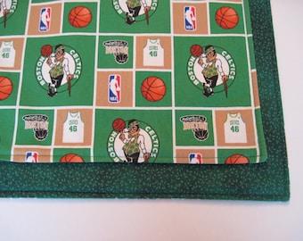 Boston Celtics Placemats Reversible  NBA Placemats Boston Sports Placemats Boston Celtics Gift  Basketball Placemats
