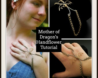 PDF Mother of Dragon's Handflower Chainmaille Tutorial