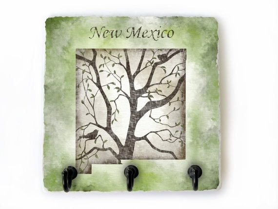 New Mexican Wall Sconces : New Mexico Key Hook State Wall Decor New Mexico State Key