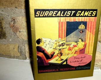 Surrealist Games. A Boxed Set. Vintage 1993. First Edition. Provocative Compendium of Surreal, Dadaism, Creativity, Card Games, Dream Lotto
