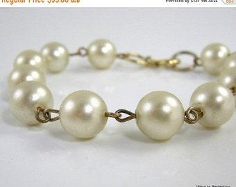 Love Yourself Sale Costume Pearl Bracelet